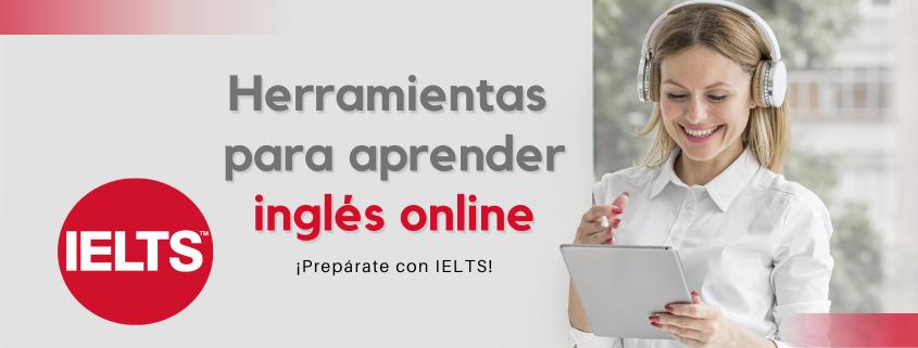 Herramientas para aprender ingles online IELTS